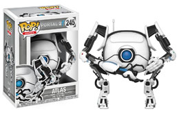 PORTAL 2 FUNKO POP GAMES ATLAS