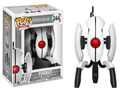 PORTAL 2 FUNKO POP GAMES TURRET