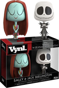 THE NIGHTMARE BEFORE CHRISTMAS - JACK AND SALLY VYNL 2-PACK