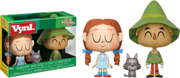 THE WIZARD OF OZ - DOROTHY WITH TOTO & THE SCARECROW VYNL 2-PACK