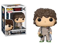 FIGURINE FUNKO POP STRANGER THINGS DUSTIN GHOSTBUSTER