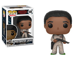 FIGURINE FUNKO POP STRANGER THINGS LUCAS GHOSTBUSTER
