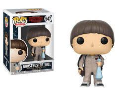 FIGURINE FUNKO POP STRANGER THINGS WILL GHOSTBUSTER