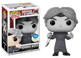 PSYCHOSE FUNKO POP NORMAN BATES BLACK & WHITE