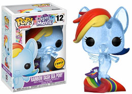 Photo du produit MON PETIT PONEY FUNKO POP! RAINBOW DASH SEA PONY Photo 1