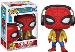 FUNKO POP SPIDER-MAN WITH HEADPHONES