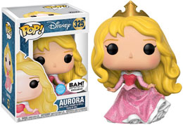 FUNKO POP SLEEPING BEAUTY AURORA GLITTER VERSION EXCLUSIVE