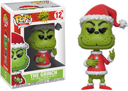 LE GRINCH FUNKO POP! GRINCH IN SANTA OUTFIT