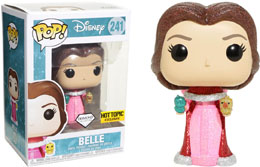 FUNKO POP! DISNEY BELLE GLITTER COLLECTION DIAMOND EXCLUSIVE