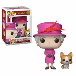 FUNKO POP ROYAL FAMILY QUENN ELISABETH II