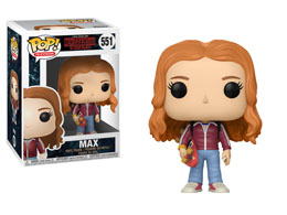 FIGURINE FUNKO POP STRANGER THINGS MAX WITH SKATE DECK