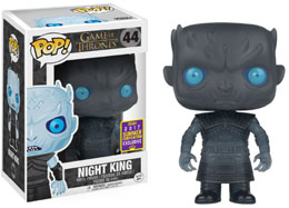SDCC 2017 FUNKO POP TRANSLUCENT NIGHT KING EXCLUSIVE - GAME OF THRONES
