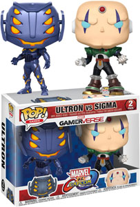 PACK 2 FUNKO POP MARVEL VS CAPCOM ULTRON VS SIGMA