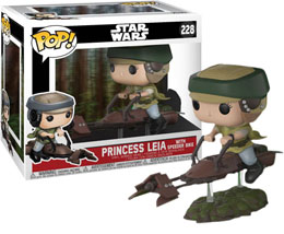 FUNKO POP STAR WARS - PRINCESS LEIA ON SPEEDER BIKE DELUXE POP!