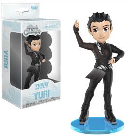 FIGURINE ROCK CANDY YURI!!! ON ICE YURI