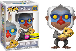 FUNKO POP LE ROI LION RAFIKI FLOCKED EXCLUSIVE