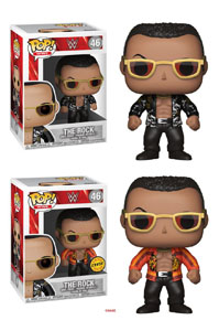 FIGURINE FUNKO POP! WWE THE ROCK (OLD SCHOOL)