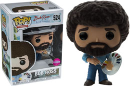 FUNKO POP BOB ROSS FLOCKED LIMITED EDITION