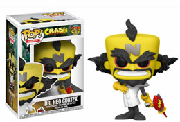 FUNKO POP CRASH BANDICOOT NEO CORTEX