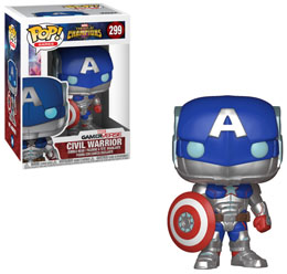 MARVEL TOURNOI DES CHAMPIONS FUNKO POP! CIVIL WARRIOR