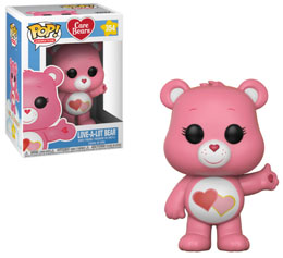 BISOUNOURS FUNKO POP CARE BEARS LOVE-A-LOT BEAR