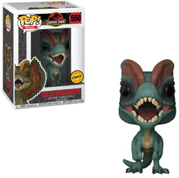 Photo du produit FIGURINE FUNKO POP JURASSIC PARK DILOPHOSAURUS Photo 1