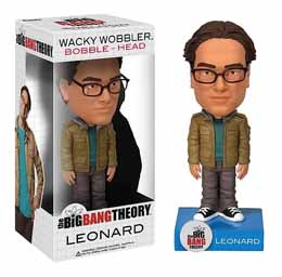 THE BIG BANG THEORY WACKY WOBBLER BOBBLE HEAD LEONARD