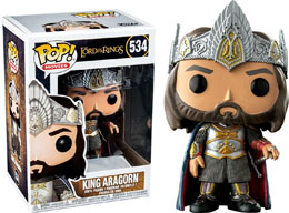 FIGURINE FUNKO POP LORD OF THE RINGS KING ARAGORN EXCLUSIVE