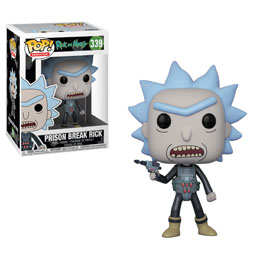 RICK ET MORTY FUNKO POP! PRISON ESCAPE RICK