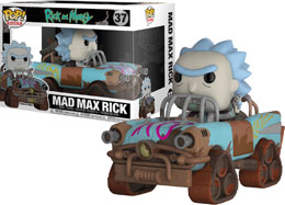 RICK ET MORTY POP! RIDES MAD MAX RICK 15 CM