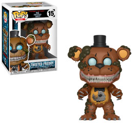 FIVE NIGHTS AT FREDDY'S FUNKO POP TWISTED FREDDY