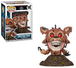 FIVE NIGHTS AT FREDDY'S FUNKO POP TWISTED FOXY