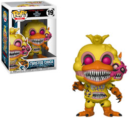 FIVE NIGHTS AT FREDDY'S FUNKO POP TWISTED CHICA
