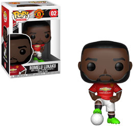 Photo du produit FUNKO POP MANCHESTER UNITED ROMELU LUKAKU