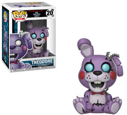FIVE NIGHTS AT FREDDY'S FUNKO POP TWISTED THEODORE