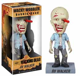 THE WALKING DEAD WACKY WOBBLER BOBBLE HEAD RV WALKER ZOMBIE