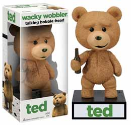 TED WACKY WOBBLER BOBBLE HEAD ÉLECTRONIQUE TALKING TED
