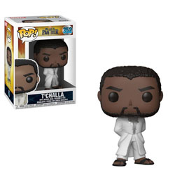 BLACK PANTHER FUNKO POP! BLACK PANTHER T'CHALLA ROBE (WHITE)
