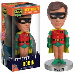 BATMAN WACKY WOBBLER BOBBLE HEAD ROBIN 1966