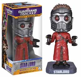 GUARDIANS OF THE GALAXY WACKY WOBBLER BOBBLE HEAD STAR-LORD