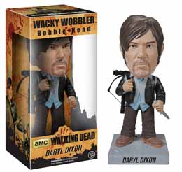 THE WALKING DEAD WACKY WOBBLER BOBBLE HEAD NEW BIKER DARYL