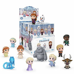 LA REINE DES NEIGES 2 - 12 FIGURINES MYSTERY MINI 5 CM + PRESENTOIR