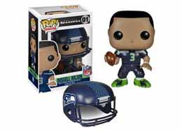 NFL FUNKO POP RUSSELL WILSON