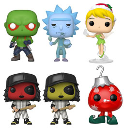 FUNKO WEB BUNDLE EXCLUSIVE 6 POP! EU EXCLUSIVE