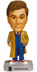 DOCTOR WHO WACKY WOBBLER BOBBLE HEAD 10TH DOCTOR