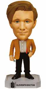 DOCTOR WHO WACKY WOBBLER BOBBLE HEAD 11TH DOCTOR