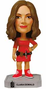 DOCTOR WHO WACKY WOBBLER BOBBLE HEAD CLARA OSWALD