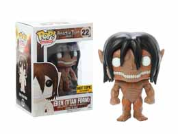 ATTACK ON TITAN FUNKO POP! EREN TITAN FORM RAGE MODE EXCLUSIVE
