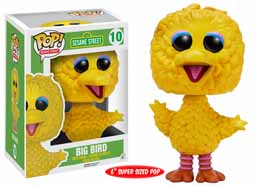 1 RUE SESAME FIGURINE POP! TV VINYL BIG BIRD