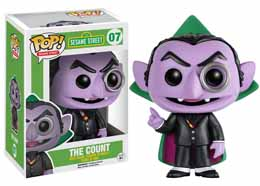 1 RUE SESAME FIGURINE FUNKO POP! THE COUNT